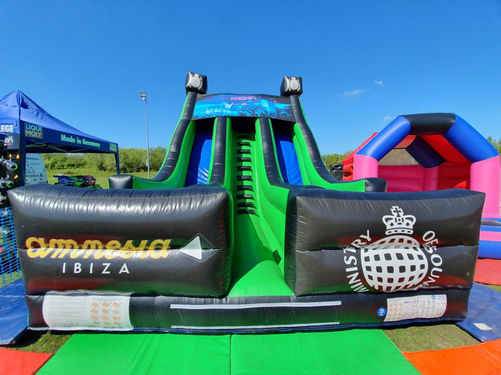 inflatable mega slide